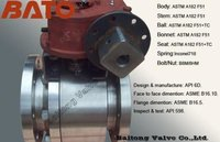 Duplex F51 Alloy Steel Metal Seat Ball Valves