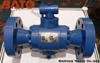 3PC Forged Steel Trunnion Mounted Ball Valves