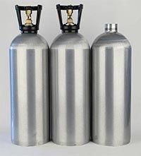 Aluminium Beverage Co2 Cylinder