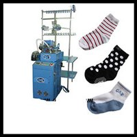 6F Computerized Plain And Terry Socks Knitting Machine