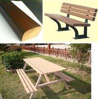 Wood Plastic Composites Garden Benches (Tkw 011)