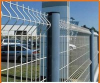 PVC Coated Wire Mesh Garden Fence Designs