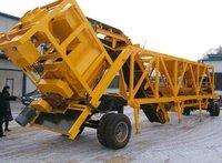Mobile Concrete Mixing Plant YHZS25