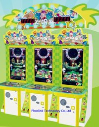 New Simulative Video Coin Pusher Game Machine