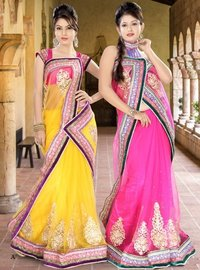 Designer Patch Work Sarees