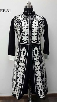 Heavy Embroidered Woolen Kurti