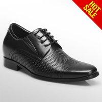 Genuine Leather Men Elevator Shoe