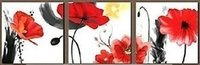 Hand Painted Floral Oil Paintings On Canvas