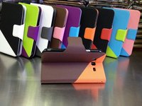 Wallet Card-Slot Pu Leather Cell Mobile Phone Case For Samsung I9082