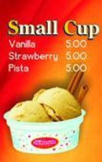 Small Cup Ice Cream
