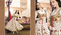 Anarkali Cotton Fancy Suit