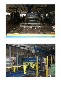 Hydraulic Press for Sandwich Panels