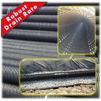 Porous Perforated Drainage Pipes