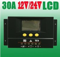 12/24V 30A Solar Controller With LCD Display