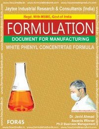 White Phenyl Concentrate Making Formula