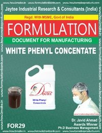 Formula Document For White Phenyl Concentrate