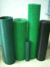 Galvanized and PVC Coated Welded Wire Fence