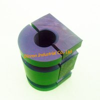 Large Plastic UHMW PE Oilless Slide Bearing Block