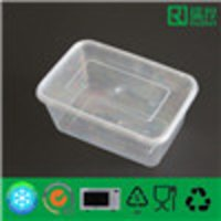 Plastic Storage Box with Lid for Food Packing 1000ml