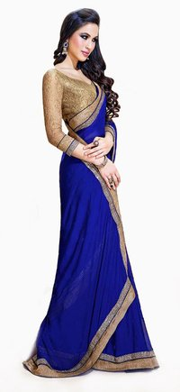 Bollywood Designer Blue Sarees