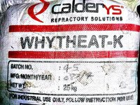 High Alumina Refractory Castable Whytheat -K