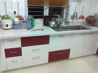 High Gloss Acrylic Kitchen Panel