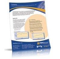 Single Side Brochure Printing Service