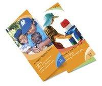 Half Fold Brochure Printing Service