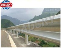Galvanized Metal Flex Beam Traffic Crash Barriers