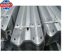 AASHTO M180 Galvanized Metal W Beam Road Safety Guard Rail