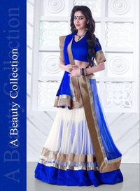 Heavy designed lehenga saree