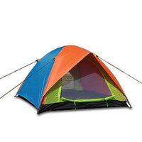 Double Layer Anti-Ultraviolet Waterproof Family Camping Tent