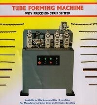 Tube Forming Machine With Precision Strip Slitter