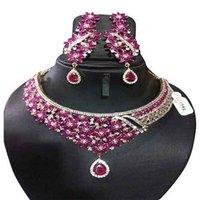 Attractive American Diamond Necklace