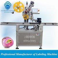 Automatic Bottle Carton Top Sticker Labeling Machine