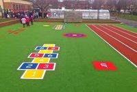 Sports Ground Artificial Grass Flooring