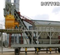 Mobile Concrte Mixing Plant