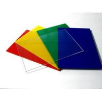 Colored Acrylic Plate