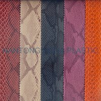 Embossed PU Synthetic Leather