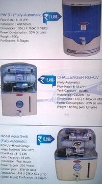 RO Water Purifiers (7 And 8 Stage)