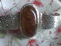 Silver Stone Ring