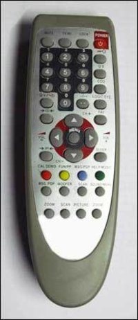 Color Tv Remote Control