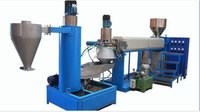 Plastic Reprocessing (Recycling) Extruder with Die Face Cutter
