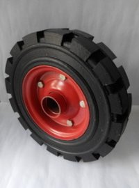 Harrow Solid Tyres In Agriculture