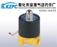 Brass Material Direct Acting Mini Solenoid Water Valve