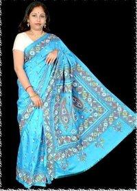 Fancy Kantha Stich Saree