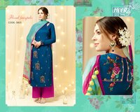 Heer - 9 Ladies Embroidery Suit