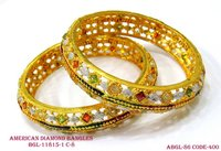 American Diamond Bangles With Attractive Design