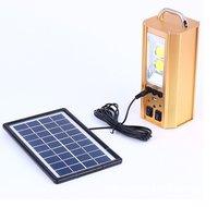 Mini Green Energy Solar Lighting System With USB Port