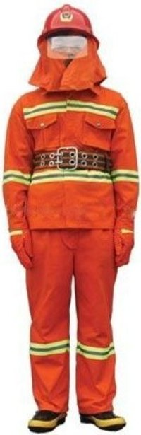 Fire Safety Coverall Suit